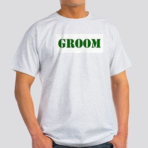 Groom Army Light T-Shirt