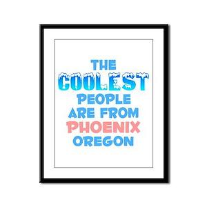 Coolest: Phoenix, OR Framed Panel Print