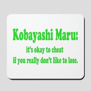 Kobayashi Maru Mousepad