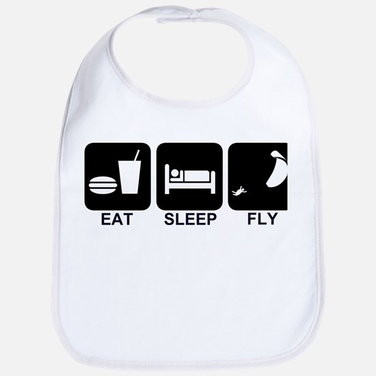 Paraglider Eat Sleep Fly Bib