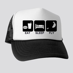 Paraglider Eat Sleep Fly Trucker Hat