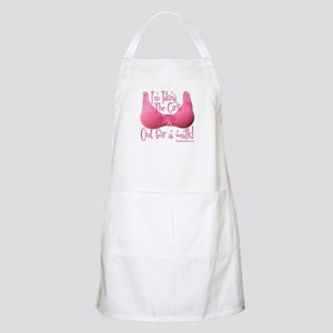 I'm taking the girls out for a walk! BBQ Apron