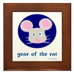 Year of the Rat (kids) Framed Tile