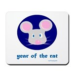 Year of the Rat (kids) Mousepad