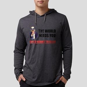 Uncle San Against Islam Long Sleeve T-Shirt