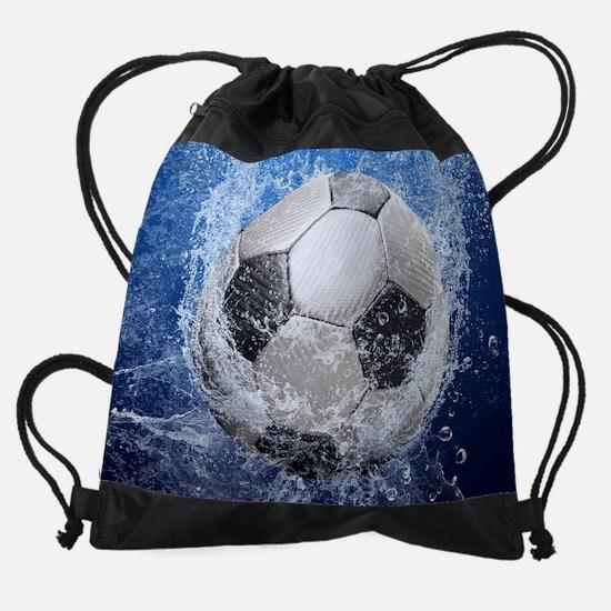 Ball Splash Drawstring Bag