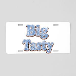 Big Tasty Aluminum License Plate