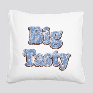 Big Tasty Square Canvas Pillow