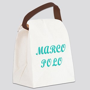 Marco Polo Canvas Lunch Bag