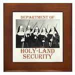 Holy-Land Security Framed Tile