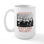 Holy-Land Security Large Mug