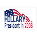 Hillary Clinton <BR>Large Poster