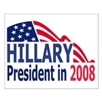 Hillary Clinton <BR>Small Poster