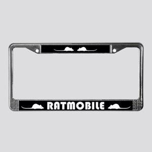 Ratmobile License Plate Frame