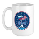ISS Expedition 17 Large Mug