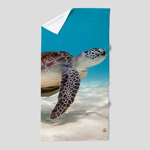 Sea Turtle Beach Towel
