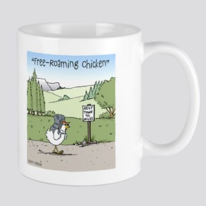 """Free-Roaming Chicken"" Mug"