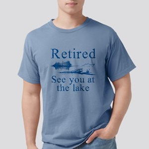 Retired See You At The Lake White T-Shirt