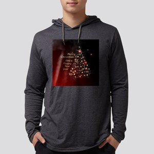 Christmas Tree And Wishes Long Sleeve T-Shirt