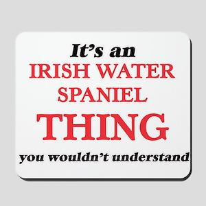 It's an Irish Water Spaniel thing, y Mousepad