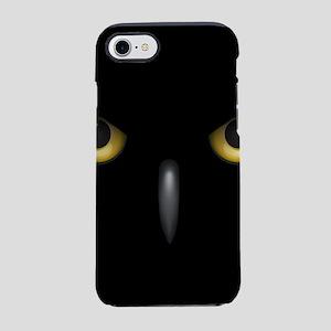 Owl Eyes Lurking In The Dark iPhone 8/7 Tough Case