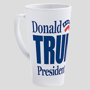 Trump 2020 17 oz Latte Mug
