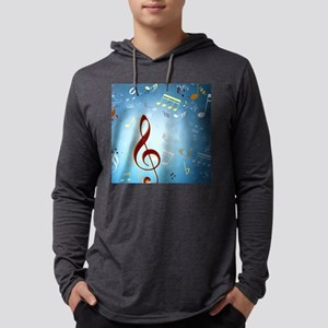 Musical Notes Long Sleeve T-Shirt