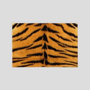 Tiger Fur 4' x 6' Rug