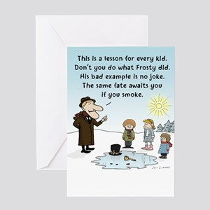 Bad poetry greeting cards cafepress greeting cards quotfrostys bad examplequot m4hsunfo
