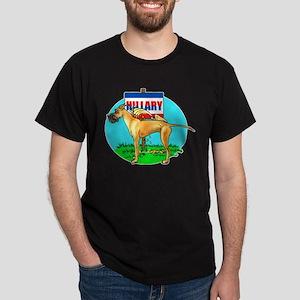 Fawn Dane Pi$$ on Hillary Dark T-Shirt