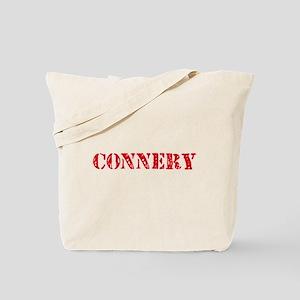 Connery Retro Stencil Design Tote Bag