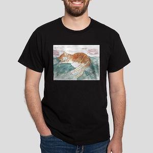 Kitty's P.J. Dark T-Shirt
