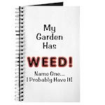 My Garden Has Weed! Journal