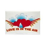Love is in the Air Rectangle Magnet (10 pack)