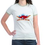 Love is in the Air Jr. Ringer T-Shirt