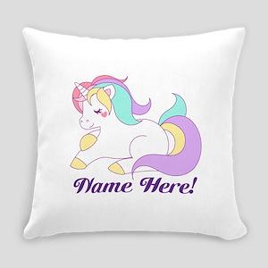 Personalized Custom Name Unicorn Girls Everyday Pi