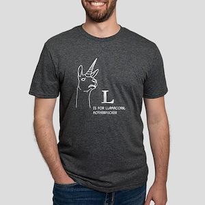 L is for Llamacorn T-Shirt
