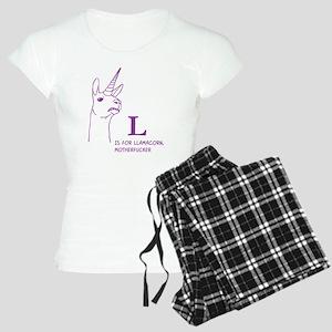 L is for Llamacorn Pajamas