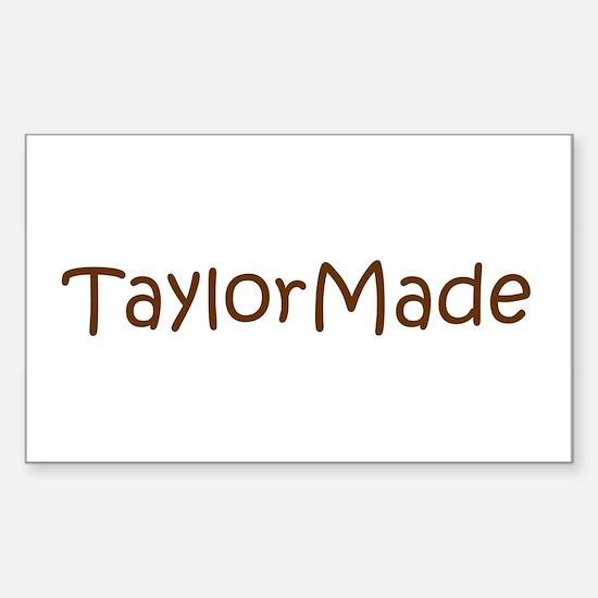 TaylorMade Rectangle Decal