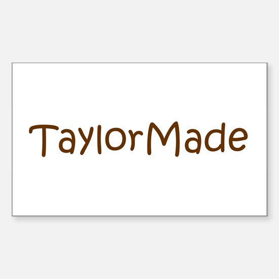 TaylorMade Rectangle Stickers