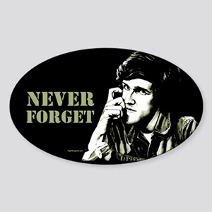 Kerry - 71 Never Forget Oval Sticker