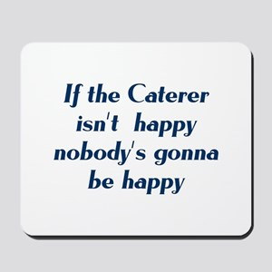 Caterer Mousepad