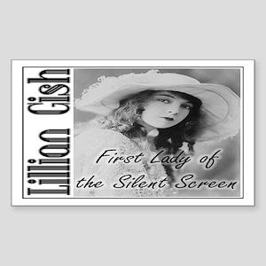 Lillian Gish Rectangle Sticker
