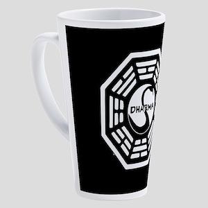 Lost Dharma Swan 17 oz Latte Mug
