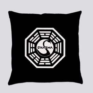 Lost Dharma Swan Everyday Pillow