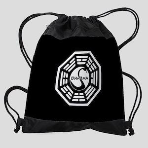 Lost Dharma Swan Drawstring Bag