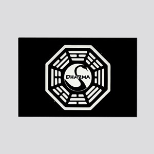 Lost Dharma Swan Rectangle Magnet