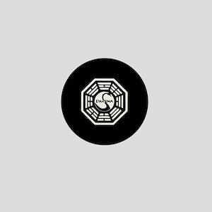 Lost Dharma Swan Mini Button