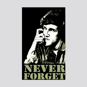 Kerry - 71 Never Forget Rectangle Sticker