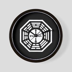 Lost Dharma Arrow Wall Clock